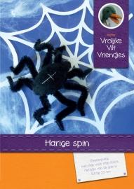 Patroonblad Harige spin