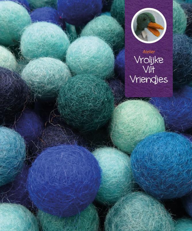 Wolbalmix blauwtinten