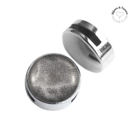 Slider 20 mm Leopard Dafne grey