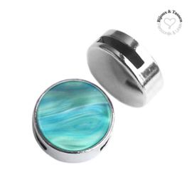 Slider 20 mm Perseo Teal blue