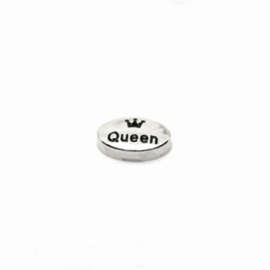 "Memory Locket charm ""Queen"""