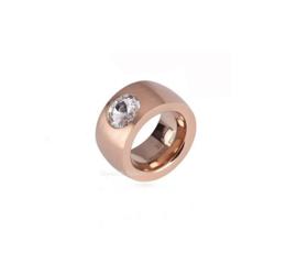 Ring de Luxe Swarovski rose maat 19