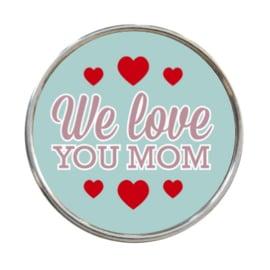 """Tekst slider """"We love you Mom"""""""