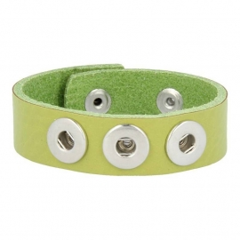 Mini Click armband Lime