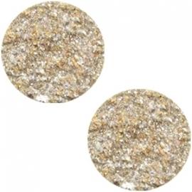 Slider 20 mm Goldstein flat matt Golden yellow