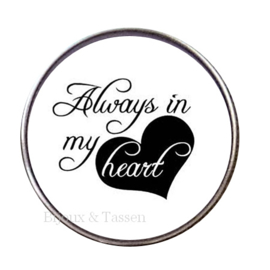 "Tekst slider   ""Always in my heart"""