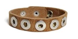 Petite armband vintage bruin