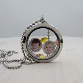Memory Locket foto charms