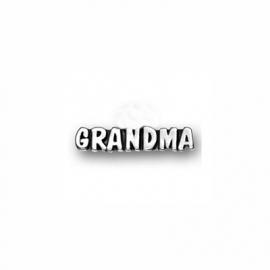 """Memory Locket charm """"grandma"""""""