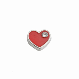 "Memory Locket charm ""hart"""