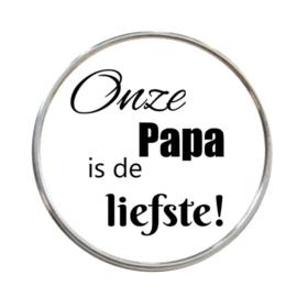 "Click ""Onze Papa is de liefste"""