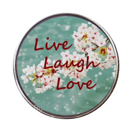 "Tekst slider ""Live Laugh Love"""