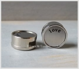 "Slider 12 mm ""Love"""