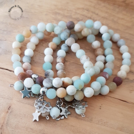 Armband Amazonite multicolor