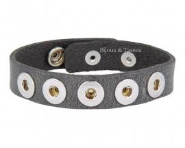 Petite armband grijs
