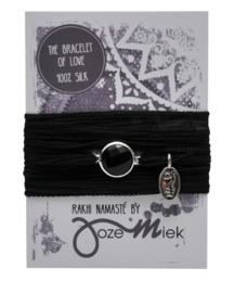 Rakhi Namasté Bombay Black (zilver)