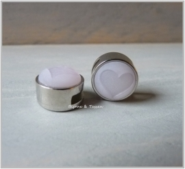 Slider 12 mm Pastel Lavender paars