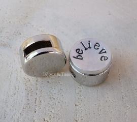 """Slagletter slider 12mm """"Believe"""""""