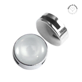 Slider 20 mm Silver shade