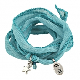 Rakhi Aqua Marine Friendly & Aproachable