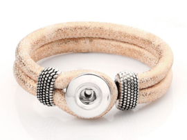 Click armband pastelroze