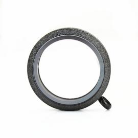 Memory Locket Sparkle Twist black 30mm RVS
