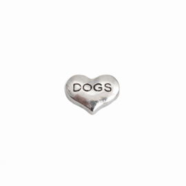 "Memory Locket charm ""Dogs"""