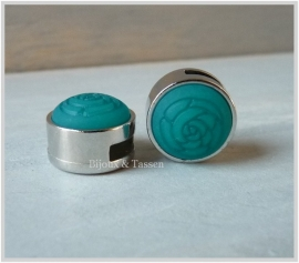 Slider 12 mm Roos matt Deep blue Zircon
