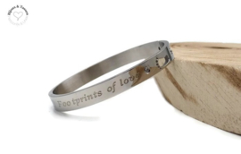 "Armband ""Footprints of Love"""