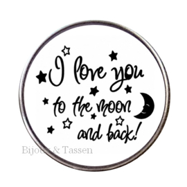 "Tekst Click ""I love you to the moon and back"""