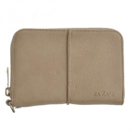 Zaza's portemonnee taupe