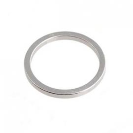 Dichte ring zilverkleurig