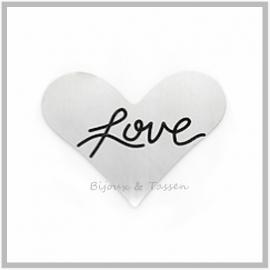 "Munt hartvorm ""Love"""