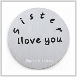 """Munt """"Sister I love you"""""""
