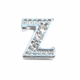 Floating Locket Charm letter Z