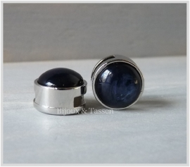 Slider 12 mm Pearl Shine Evening Blue