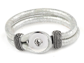 Click armband zilver