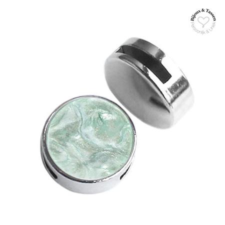 Slider 20 mm Turmaline green