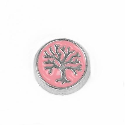 "Floating Locket Charm ""Tree of Life"""