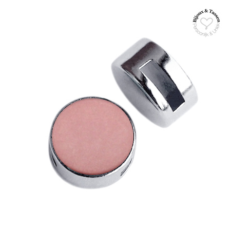 Slider 12 mm matt Antique pink