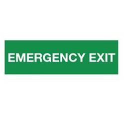Emergency exit 500x150 mm kunststof PP