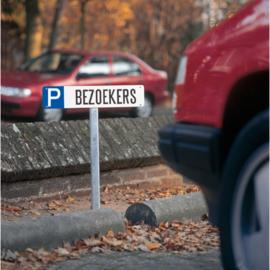 P bezoekers parkeerplaatsaanduiding