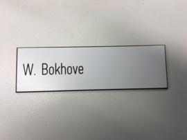 Diverse afmetingen PVC wit/zw