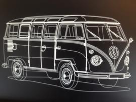 Bord afbeelding volkswagen bus