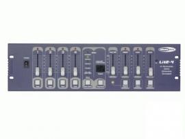 Lite-4 lichtmengtafel, 4 kanalen