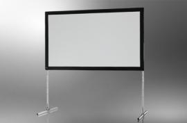 Opzicht projectiescherm (16:9) van 1.50 meter bij 2.66 meter
