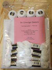 Hardangerpakket 1 - luxe kleed