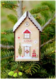 Christmas birdhouse love - 165