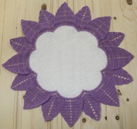Haakpatroon 4: kleedje met bloemblaadjes