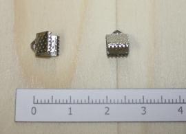 1200 - Lintklem Zilver 6x7mm